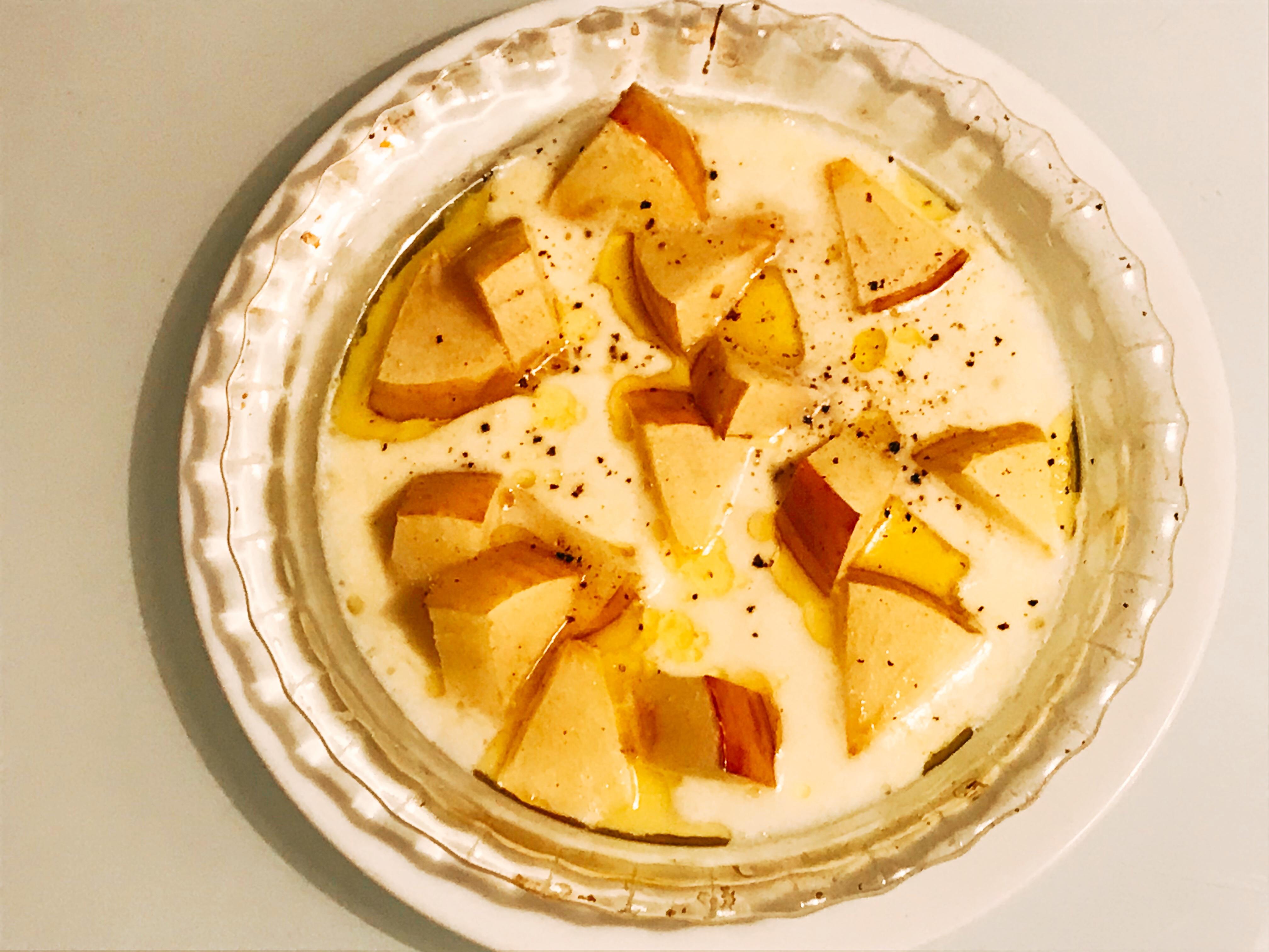 りんごのチーズ焼き