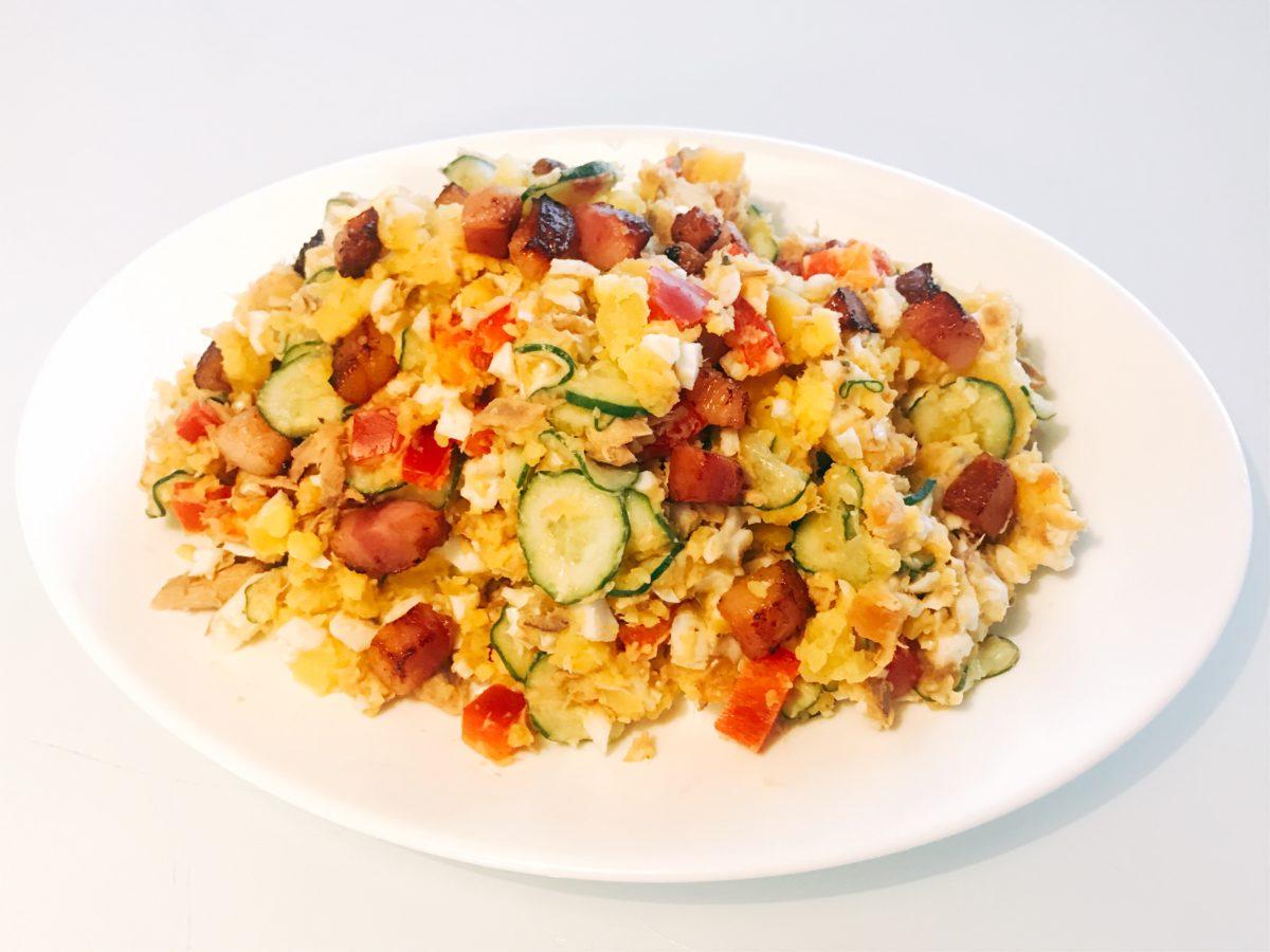 サバポテトサラダ