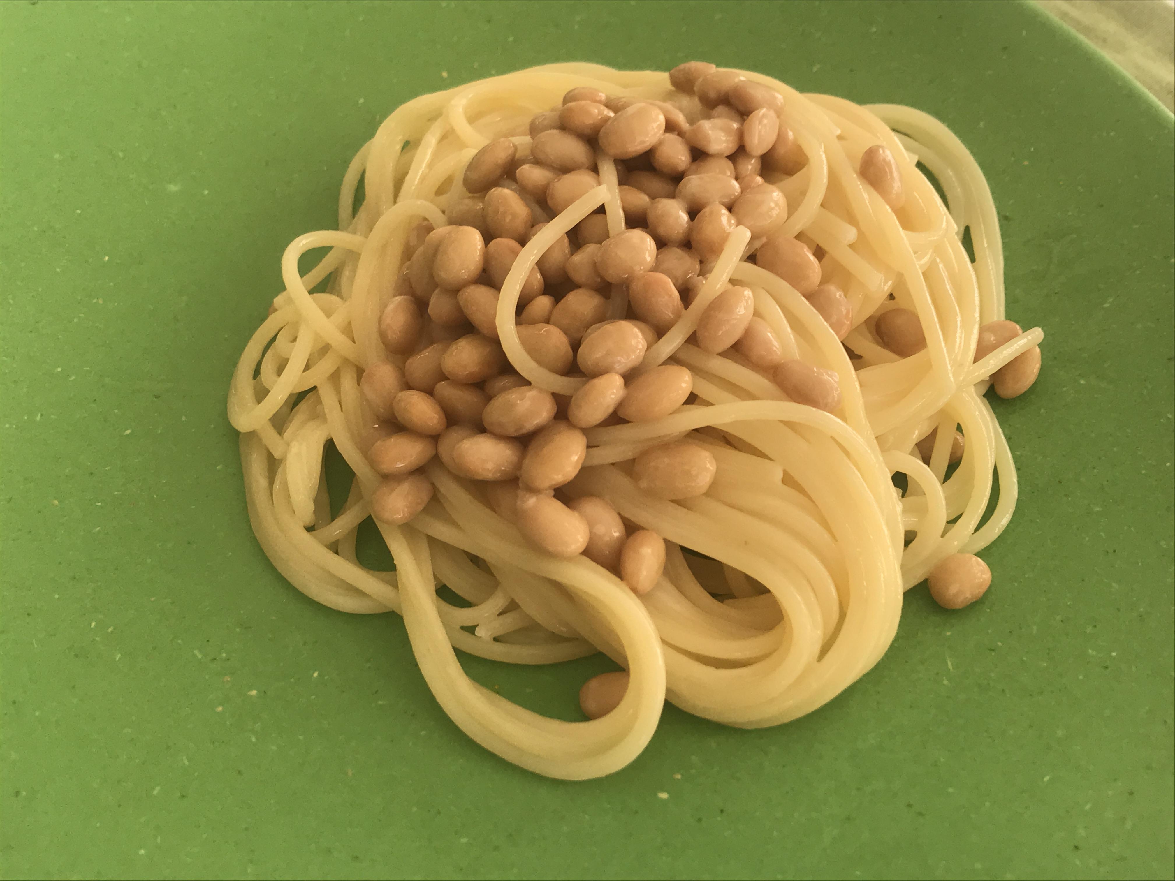 納豆パスタ